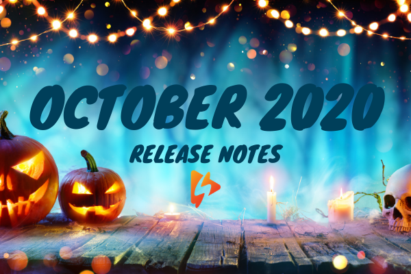 Release Notes: October 2020