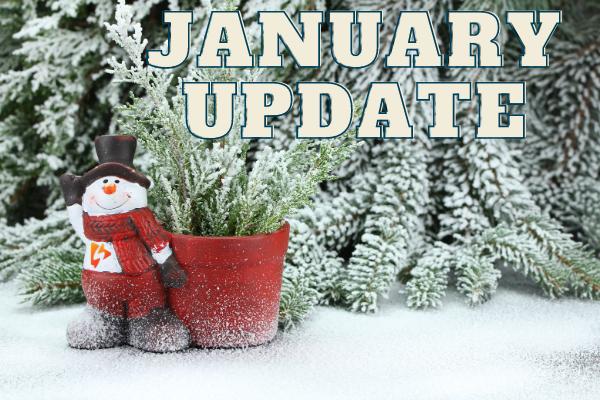 Jan 2021 Update