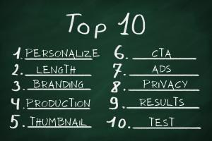Top 10 Things Video Sales