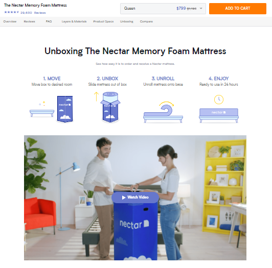 Video On Homepage