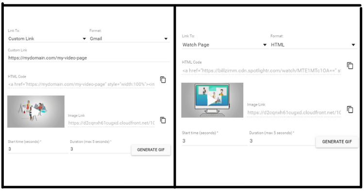 Publish GIF to Gmail